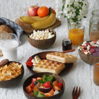 Zdravé dietní snídaně