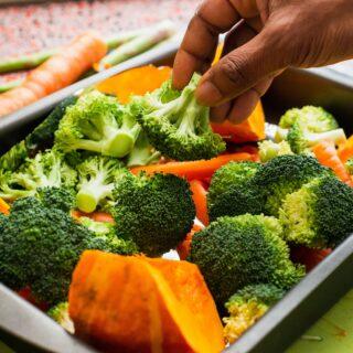Zelenina, potraviny s nízkým glykemickým indexem