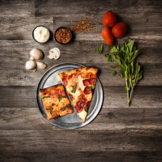 zdravá domácí pizza