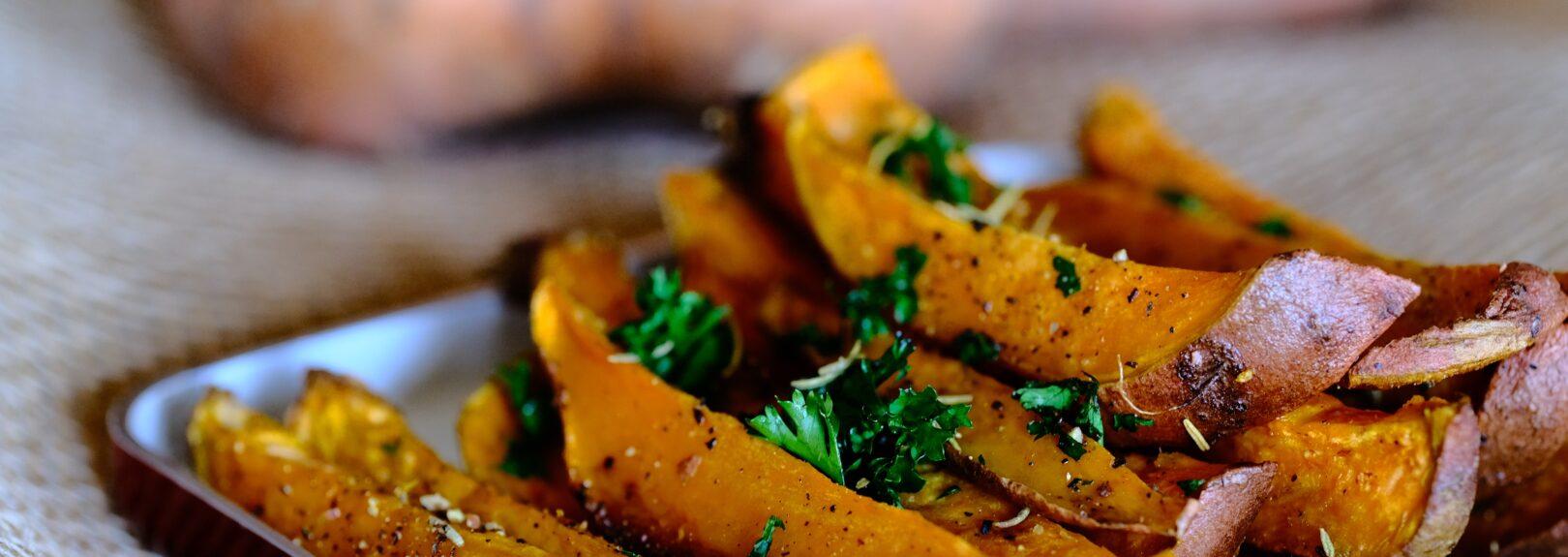 Recepty ze sladkých brambor, batátů