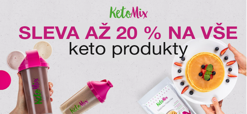 Ketomix sleva az 20 %