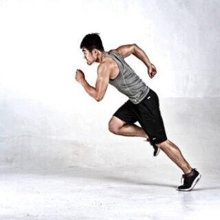 Pro intervalový trénink je vhodný například běh.