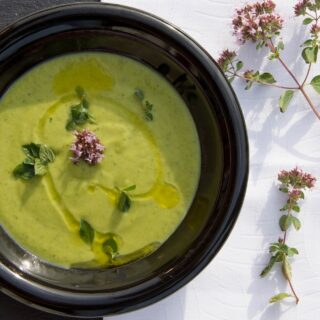 Kiwi polévka s vínem