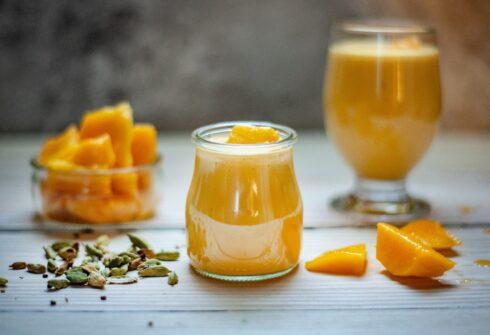 Mangovo proteinové smoothie