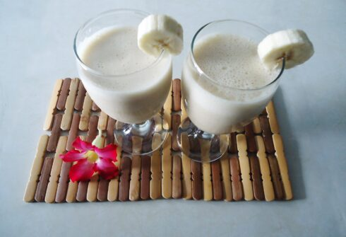 Proteinovo banánové smoothie
