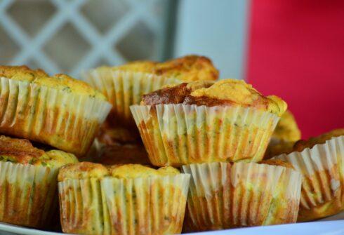 Rýžovo kuřecí muffiny