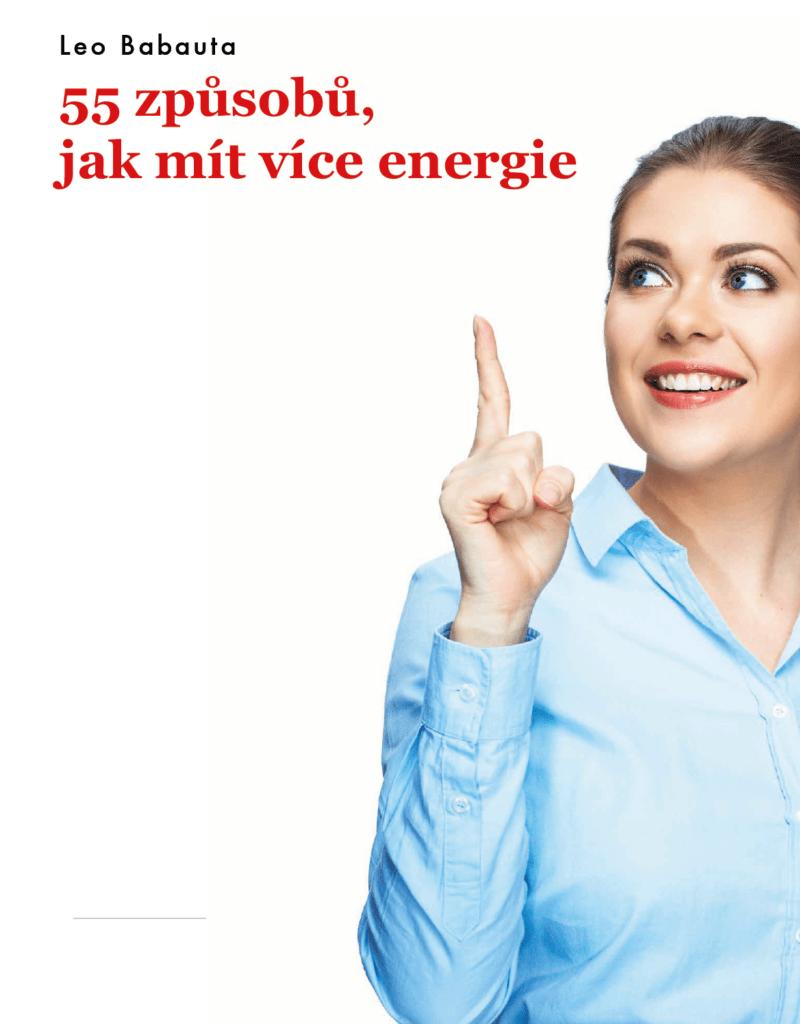 55 způsobů, jak mít více energie