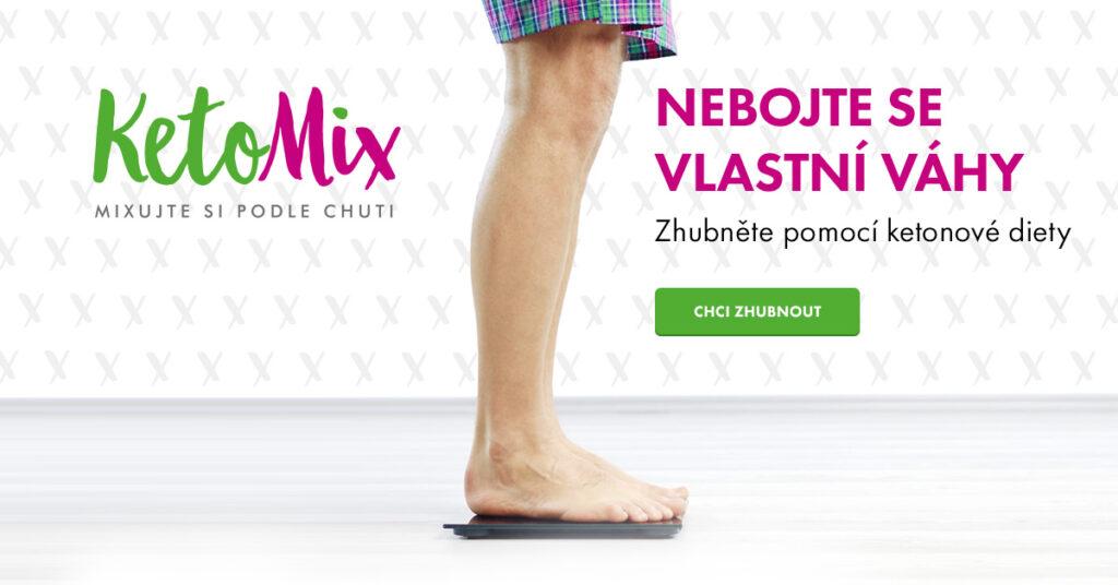 KetoMix - nebojte se vlastní váhy muži