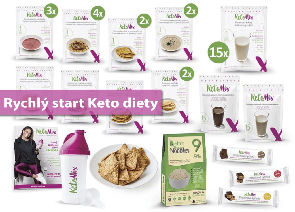 Ochutnávkový týdenní balíček KetoMix