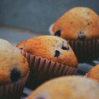 recept na domácí muffiny neboli košíčky
