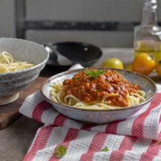 bolognese recept na boloňskou omáčku