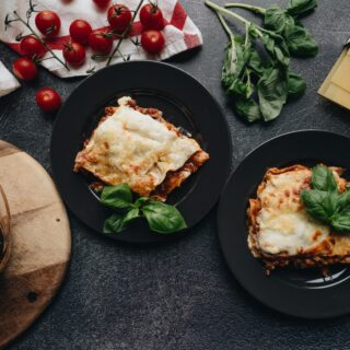 lasagne bolognese recept